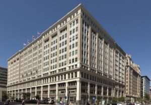 The Homer Building in Washington D.C. is where Tayman Lane Chaverri LLP is located